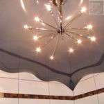 Волнистые натяжные потолки