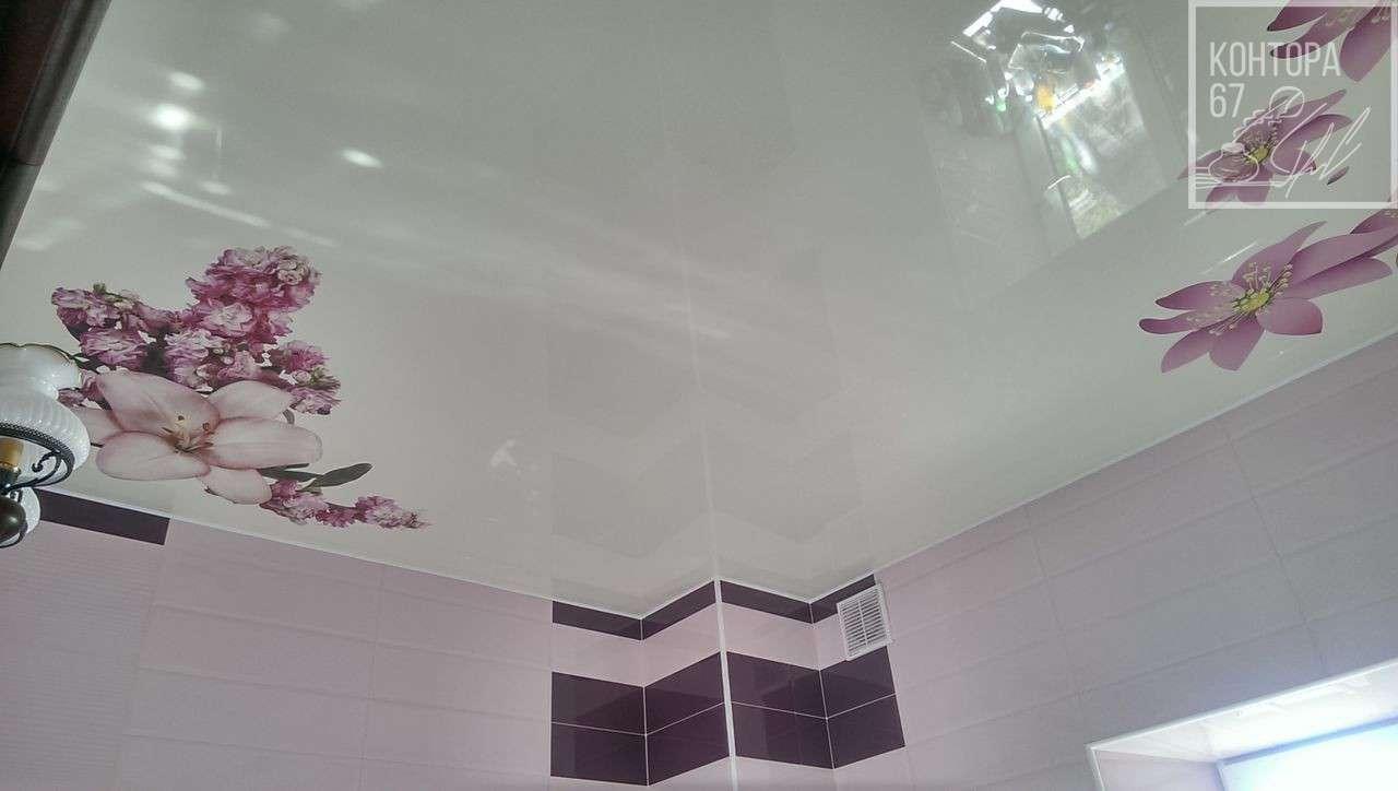 натяжные потолки расцветки с рисунком фото судьба